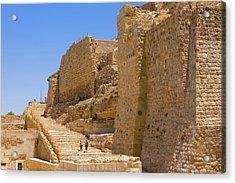 Karak Castle, Jordan Acrylic Print by Keren Su