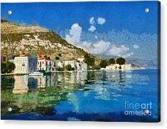 Kastellorizo Island Acrylic Print by George Atsametakis