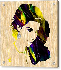 Kim Kardashian Collection Acrylic Print by Marvin Blaine