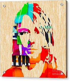 Kurt Cobain Nirvana Collection Acrylic Print