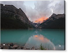 Lake Louise Sunrise Acrylic Print