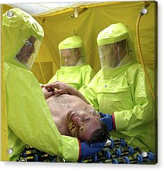 Major Emergency Decontamination Training Acrylic Print