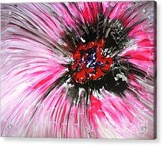 Mannflowers Acrylic Print by Baljit Chadha
