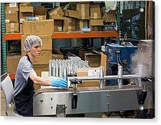 Marijuana Products Factory Acrylic Print