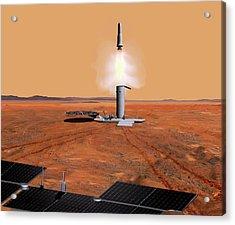 Mars Sample Return Mission Acrylic Print