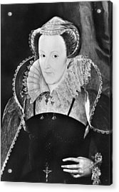 Mary, Queen Of Scots (1542-1587) Acrylic Print by Granger