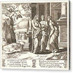 Master Of The Die Italian, Born Ca. 1512 Acrylic Print