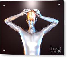Mental Power Acrylic Print