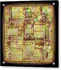Microchip Acrylic Print