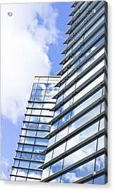 Modern Building Acrylic Print by Tom Gowanlock