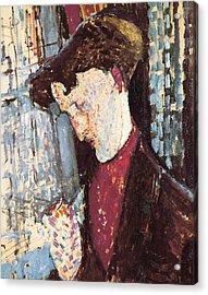 Modigliani, Amedeo 1884-1920. Portrait Acrylic Print