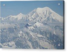 Mt Mckinley Acrylic Print by Dick Willis