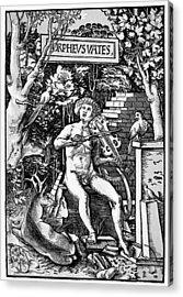 Mythology Orpheus Acrylic Print by Granger