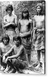 Native Brazilians Acrylic Print by Granger