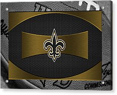 New Orleans Saints Acrylic Print