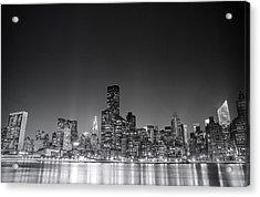 New York City Acrylic Print by Vivienne Gucwa
