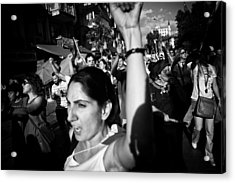 Occupy Gezi - Protests Against Turkish Government Acrylic Print by Ilker Goksen