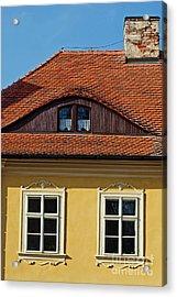 Old House Acrylic Print by Sarka Olehlova