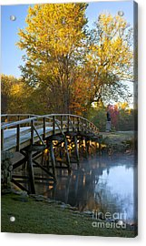 Old North Bridge Concord Acrylic Print