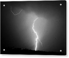 Acrylic Print featuring the photograph Our 1st Severe Thunderstorms In South Central Nebraska by NebraskaSC