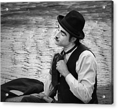 4 - Over And Through - French Mime Acrylic Print by Nikolyn McDonald