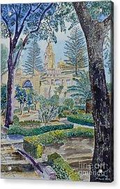 Palazzo Parisio Naxxar Malta Acrylic Print