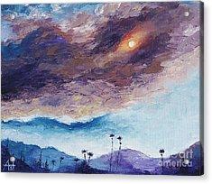 Palm Springs Summer Acrylic Print