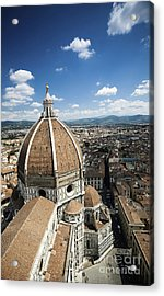 Piazza Del Duomo With Basilica Of Saint Acrylic Print by Evgeny Kuklev