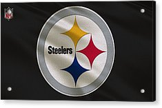 Pittsburgh Steelers Uniform Acrylic Print by Joe Hamilton
