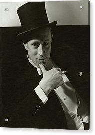 Portrait Of Leslie Howard Acrylic Print