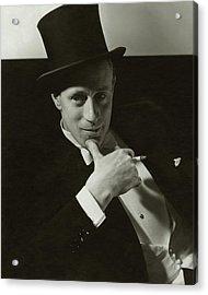 Portrait Of Leslie Howard Acrylic Print by Edward Steichen