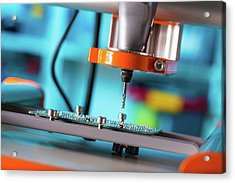 Printed Circuit Board Processing Acrylic Print
