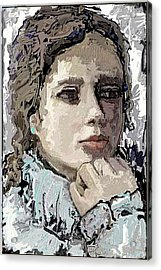 Reflection Acrylic Print by Pemaro