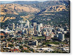 Salt Lake City Utah Usa Acrylic Print by Utah Images