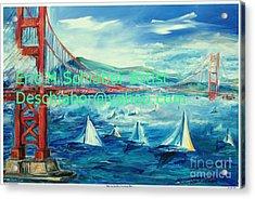 San Francisco Golden Gate Bridge Acrylic Print