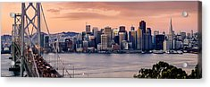 San Francisco Acrylic Print by Radek Hofman
