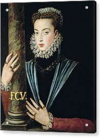 Sanchez Coello, Alonso 1531-1588 Acrylic Print by Everett