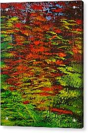 4 Seasons Fall Acrylic Print