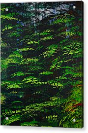 Acrylic Print featuring the painting 4 Seasons Summer by P Dwain Morris