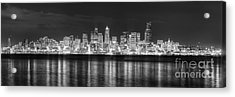 Seattle Skyline Acrylic Print by Twenty Two North Photography