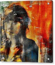 Shadows (portrait) Acrylic Print by Dalibor Davidovic