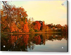 Shady Oak Lake  Acrylic Print