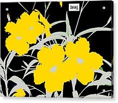 4 Silver Jacks W Logo Acrylic Print