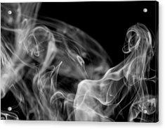 Smoke Acrylic Print by Marek Poplawski