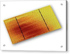 Solar Cell Acrylic Print by Alfred Pasieka