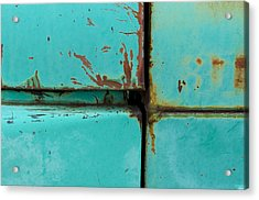 4 Square Acrylic Print by Fran Riley