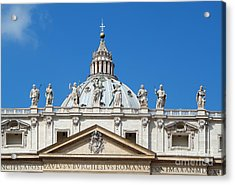 St Peter In Vatican Acrylic Print