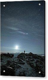 Stargazing Acrylic Print by Tommy Eliassen