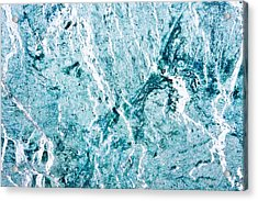 Stone Background Acrylic Print by Tom Gowanlock