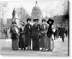Suffragettes, 1913 Acrylic Print by Granger